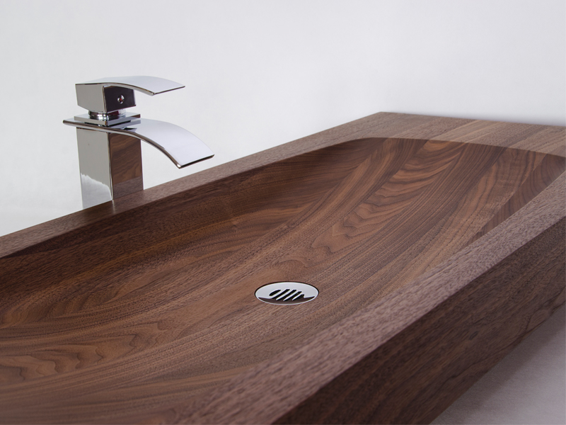 wooden sink Parma 1
