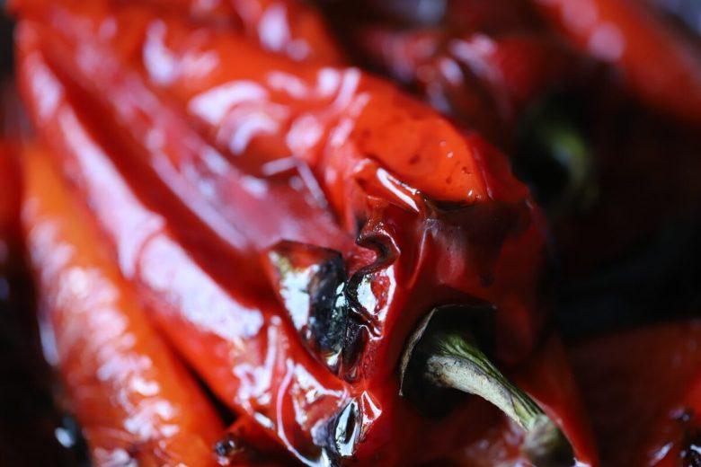Peperoni-arrostiti-pulizia